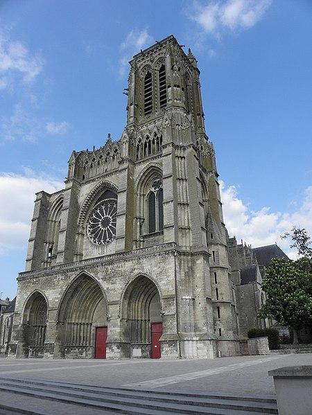 Photo du Monument Historique Cathédrale Saint-Gervais et Saint-Protais situé à Soissons