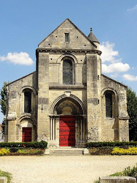 Photo du Monument Historique Ancienne église Saint-Pierre-au-Parvis situé à Soissons