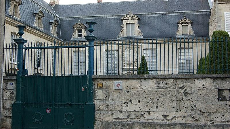 Photo du Monument Historique Hôtel de Barral situé à Soissons