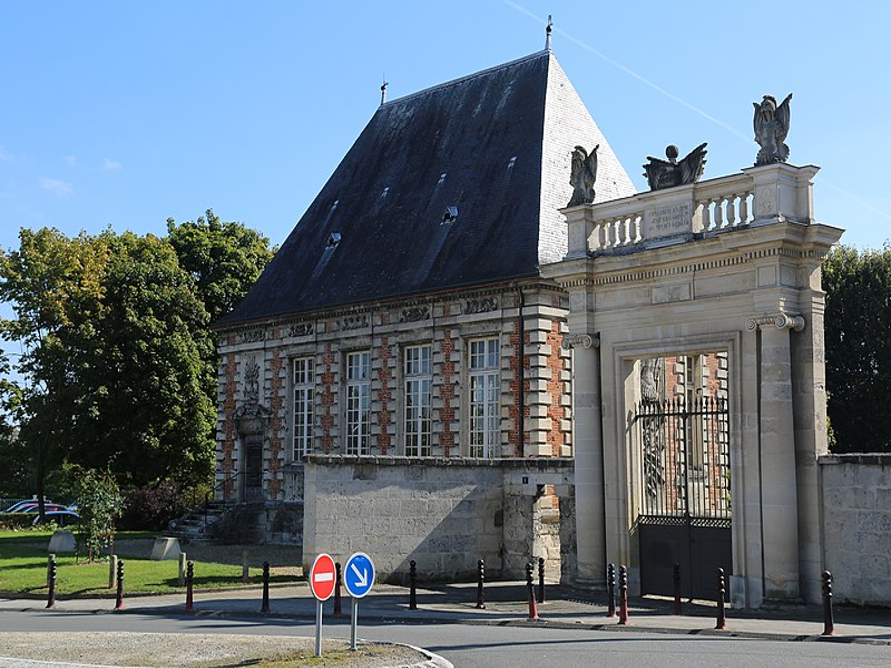 Photo du Monument Historique Pavillon de l'Arquebuse situé à Soissons