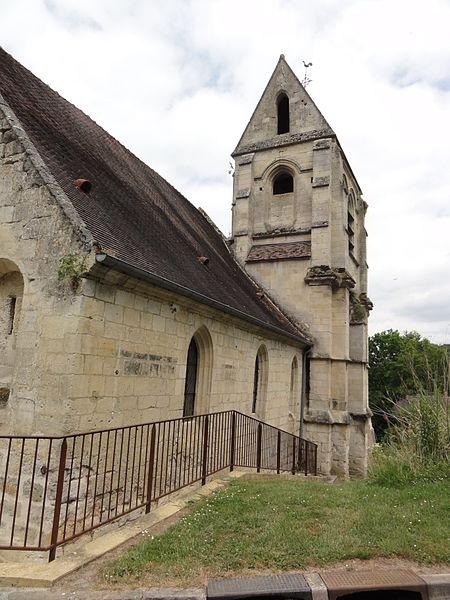 Photo du Monument Historique Eglise Saint-Martin situé à Soucy