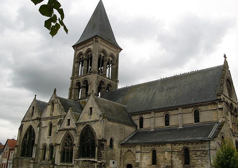 Photo du Monument Historique Eglise situé à Vailly-sur-Aisne