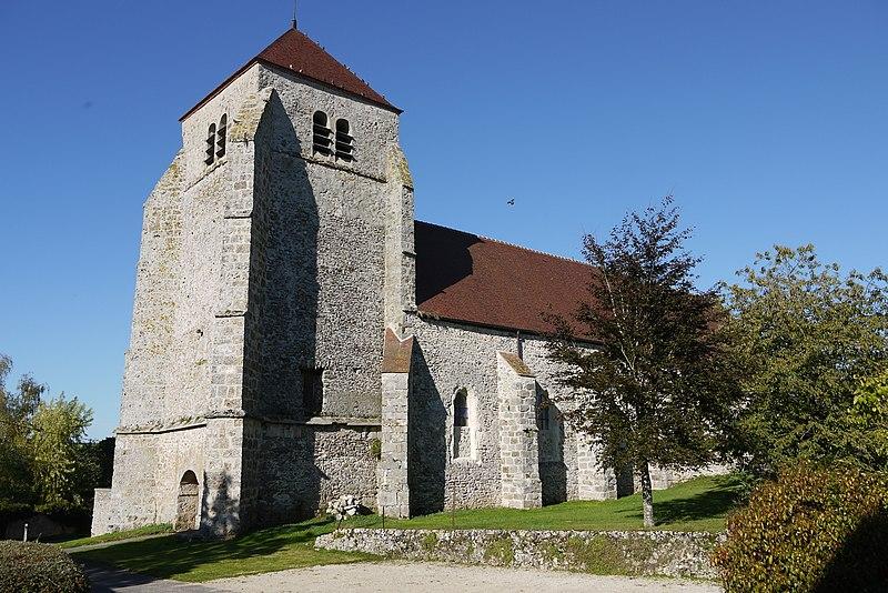Photo du Monument Historique Eglise situé à Vendières
