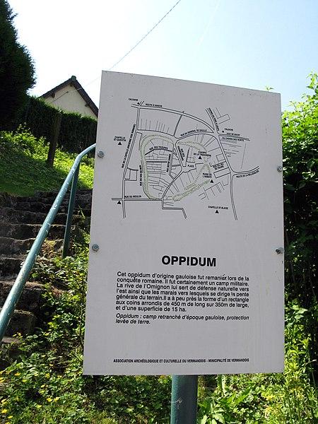 Photo du Monument Historique Camp Romain situé à Vermand