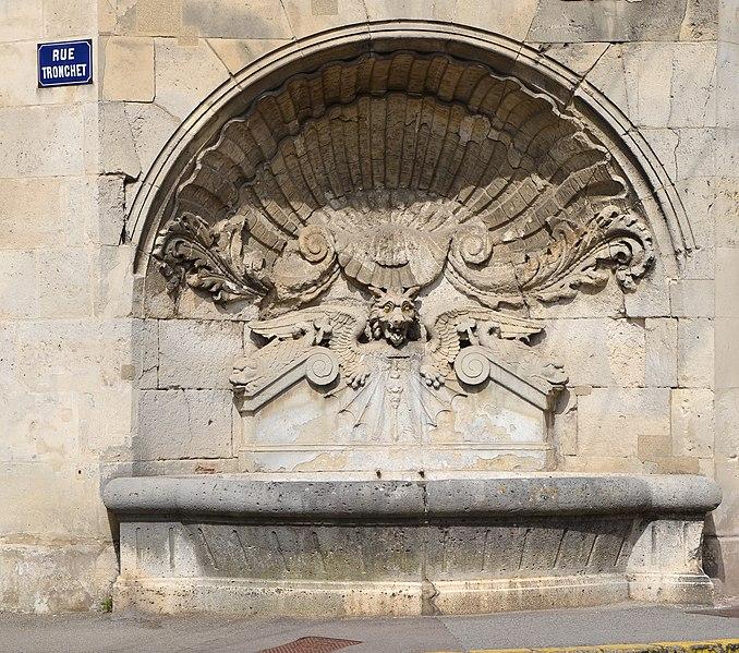 Photo du Monument Historique Fontaine situé à Villers-Cotterêts