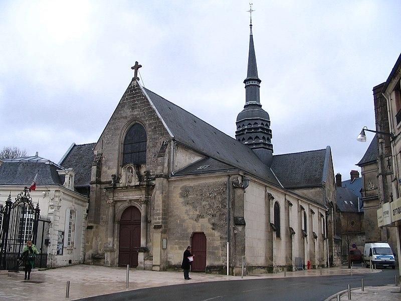 Photo du Monument Historique Eglise de Villers-Cotterêts situé à Villers-Cotterêts