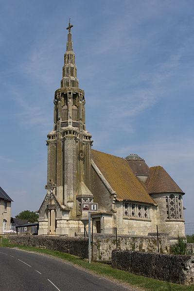 Photo du Monument Historique Eglise Saint-Martin situé à Martigny-Courpierre