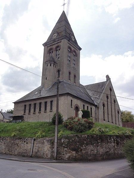 Photo du Monument Historique Eglise Saint-Martin situé à Vendhuile