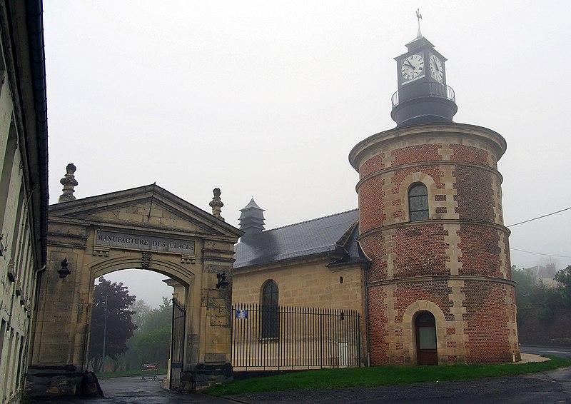 Photo du Monument Historique Ancienne manufacture royale des glaces situé à Saint-Gobain