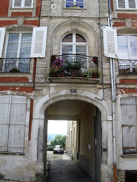 Photo du Monument Historique Hôtel particulier situé à Château-Thierry
