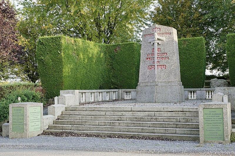 Photo du Monument Historique Monument de la Pierre d'Haudroy situé à La Flamengrie