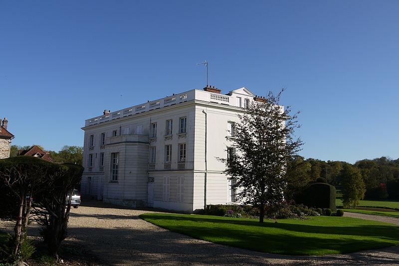 Photo du Monument Historique Parc du château situé à Viels-Maisons