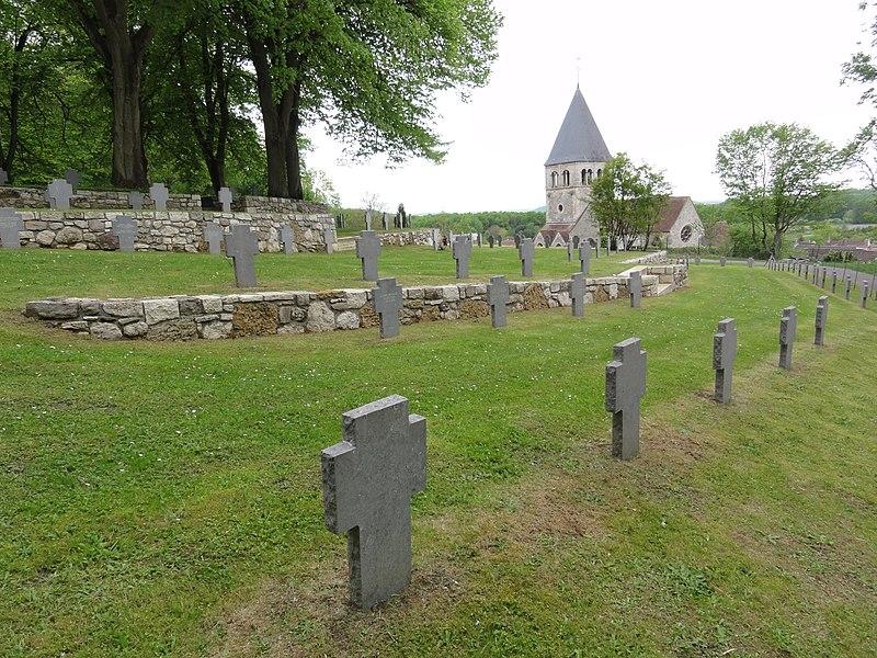 Photo du Monument Historique Cimetière militaire allemand situé à Veslud