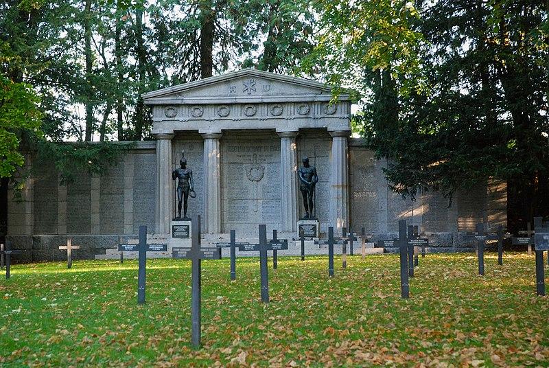 Photo du Monument Historique Monument du cimetière militaire allemand situé à Saint-Quentin