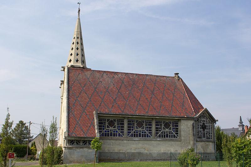 Photo du Monument Historique Eglise Saint-Martin situé à Monthenault