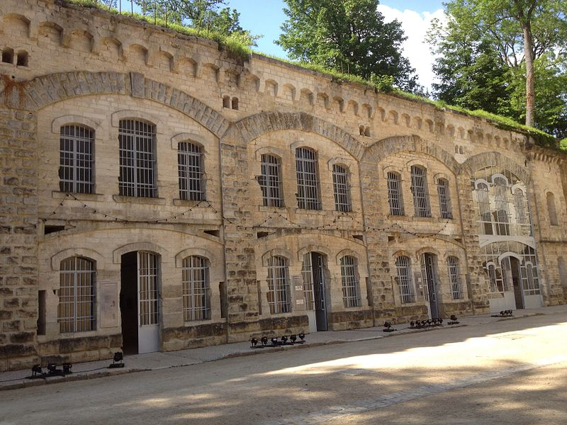 Photo du Monument Historique Fort de Condé situé à Condé-sur-Aisne