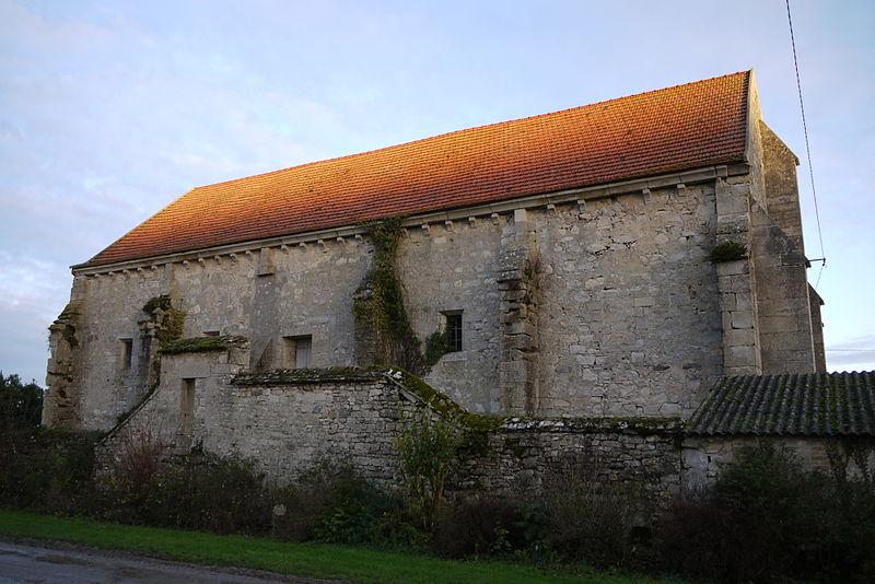 Photo du Monument Historique Grange de Montaon situé à Dravegny