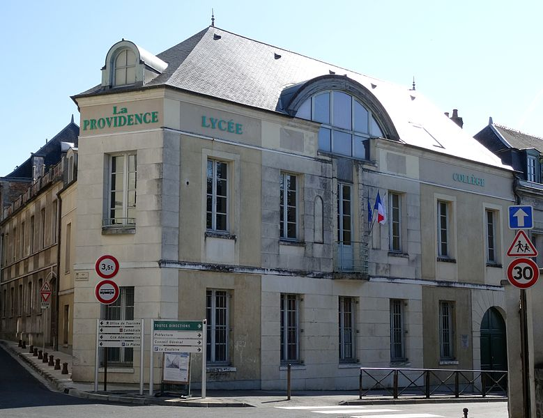 Photo du Monument Historique Ecole de la Providence situé à Laon