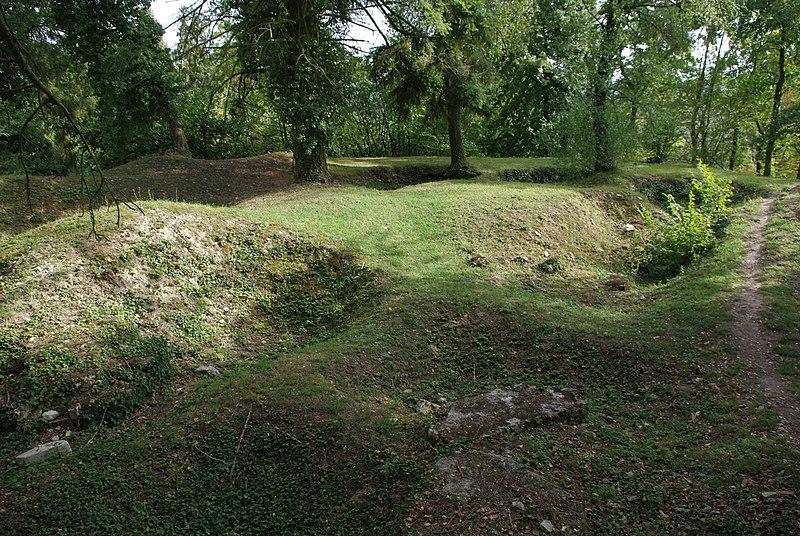 Photo du Monument Historique Village du Vieux Craonne situé à Craonne