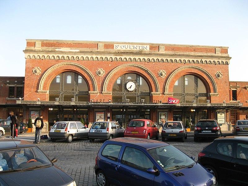Photo du Monument Historique Gare situé à Saint-Quentin