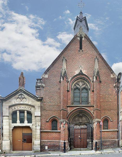 Photo du Monument Historique Chapelle de la Charité situé à Saint-Quentin