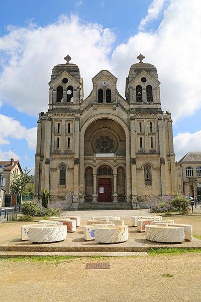 Photo du Monument Historique Eglise Sainte-Eugénie situé à Soissons