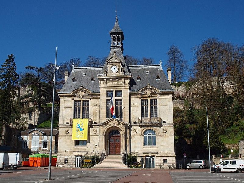 Photo du Monument Historique Hôtel de ville situé à Château-Thierry