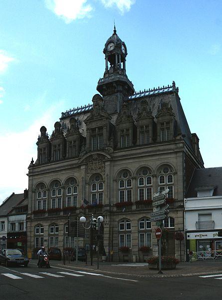 Photo du Monument Historique Hôtel de ville situé à Bohain-en-Vermandois