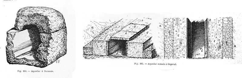 Photo du Monument Historique Maisons de source et aqueduc (également sur commune de Belleu) situé à Soissons