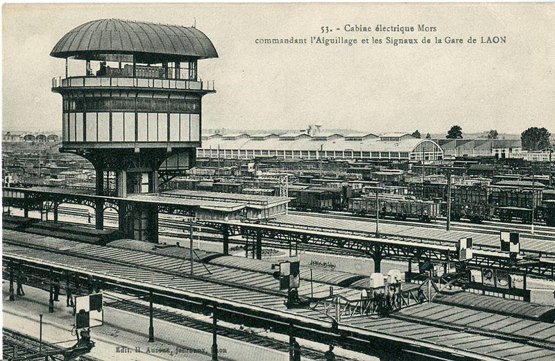 Photo du Monument Historique Rotonde et halle-atelier ferroviaires situé à Laon