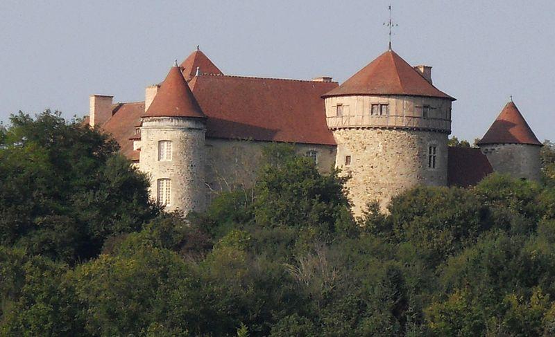 Photo du Monument Historique Château des Chaussins situé à Abrest