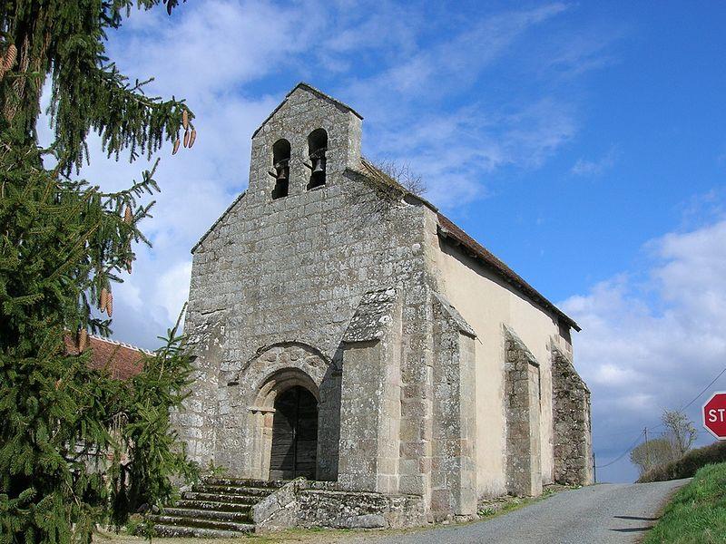 Photo du Monument Historique Ancienne église Saint-Pardoux situé à Archignat