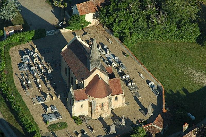 Photo du Monument Historique Eglise Saint-Genest situé à Aubigny