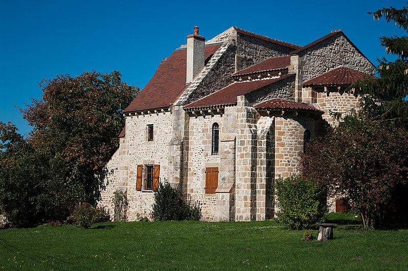 Photo du Monument Historique Ancien prieuré de Saint-Maurice situé à Autry-Issards
