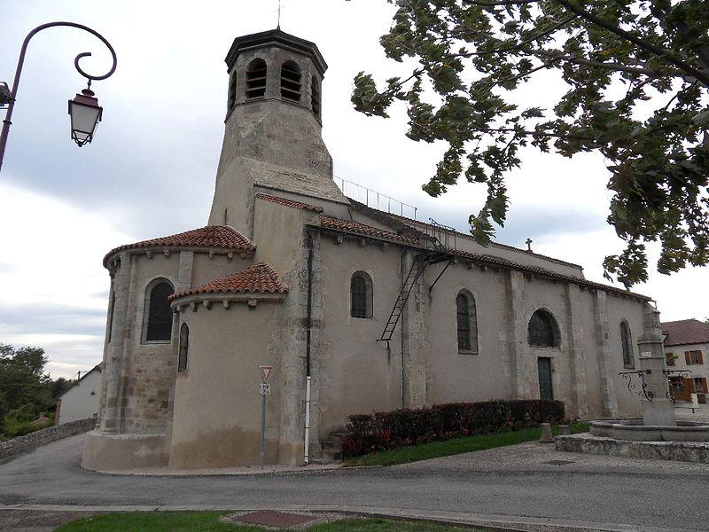 Photo du Monument Historique Eglise Saint-Marcel situé à Bayet
