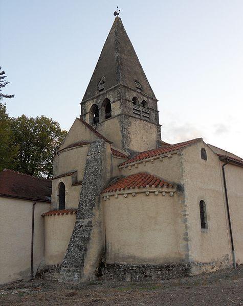 Photo du Monument Historique Eglise Saint-Aignan situé à Bègues