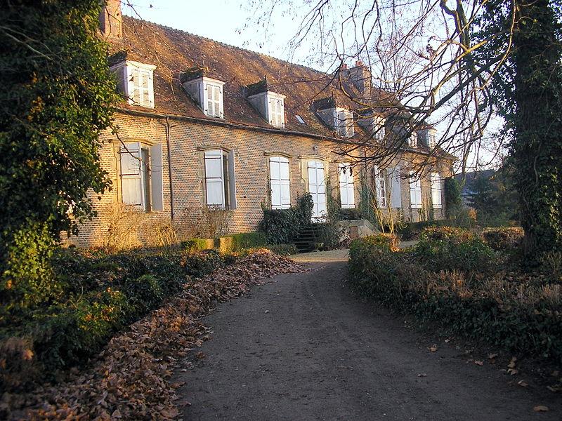 Photo du Monument Historique Domaine de Chaugy situé à Bessay-sur-Allier