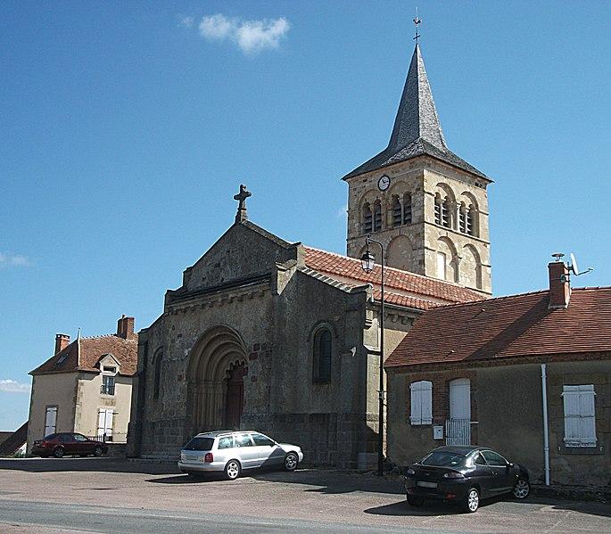Photo du Monument Historique Eglise paroissiale Saint-Martin situé à Bizeneuille