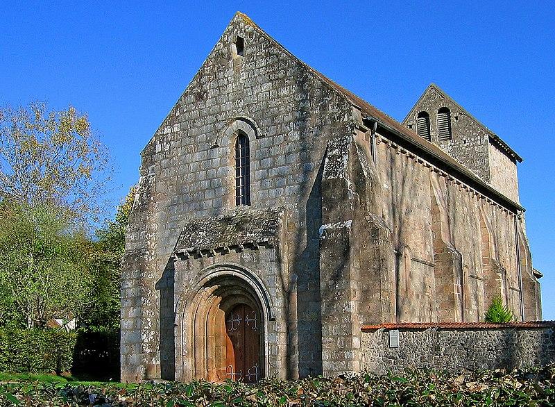 Photo du Monument Historique Eglise Saint-Antoine situé à Braize
