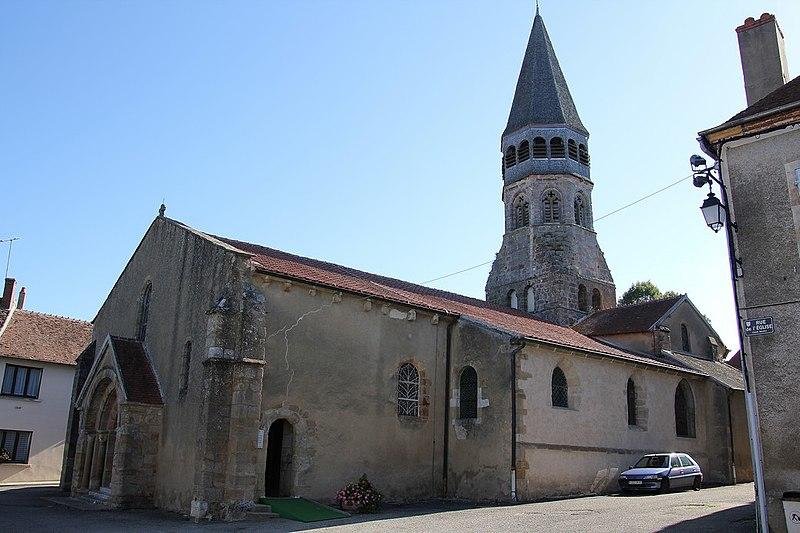 Photo du Monument Historique Eglise Saint-Martin situé à Cérilly