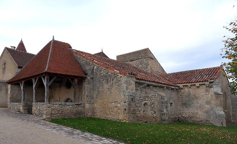 Photo du Monument Historique Ancienne église Saint-Blaise de Chareil situé à Chareil-Cintrat