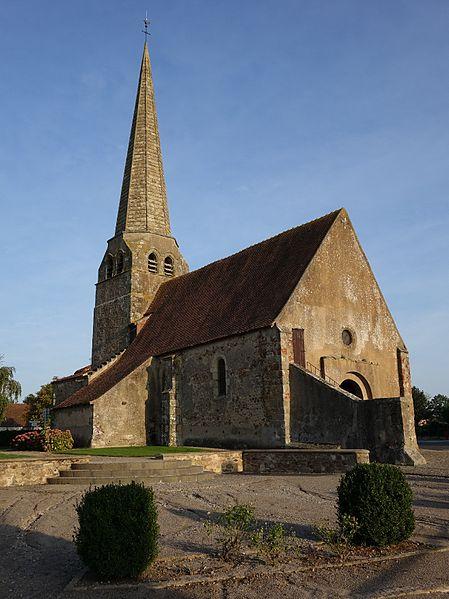 Photo du Monument Historique Eglise Saint-Martin situé à Chavenon