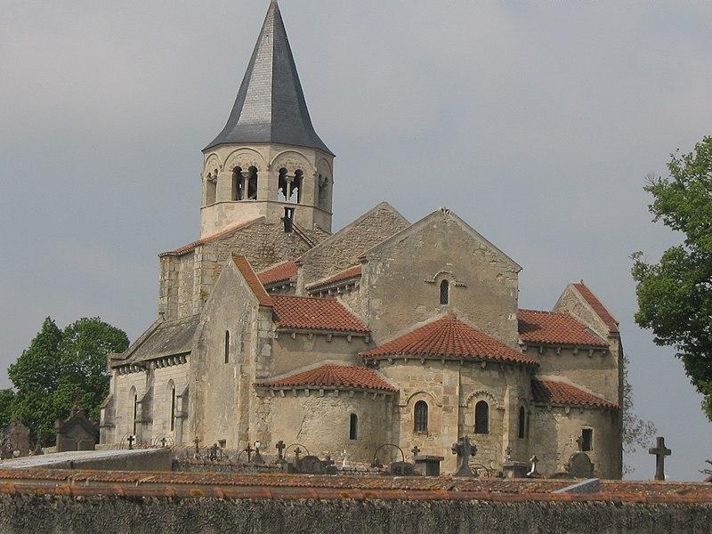 Photo du Monument Historique Eglise Sainte-Radegonde situé à Cognat-Lyonne