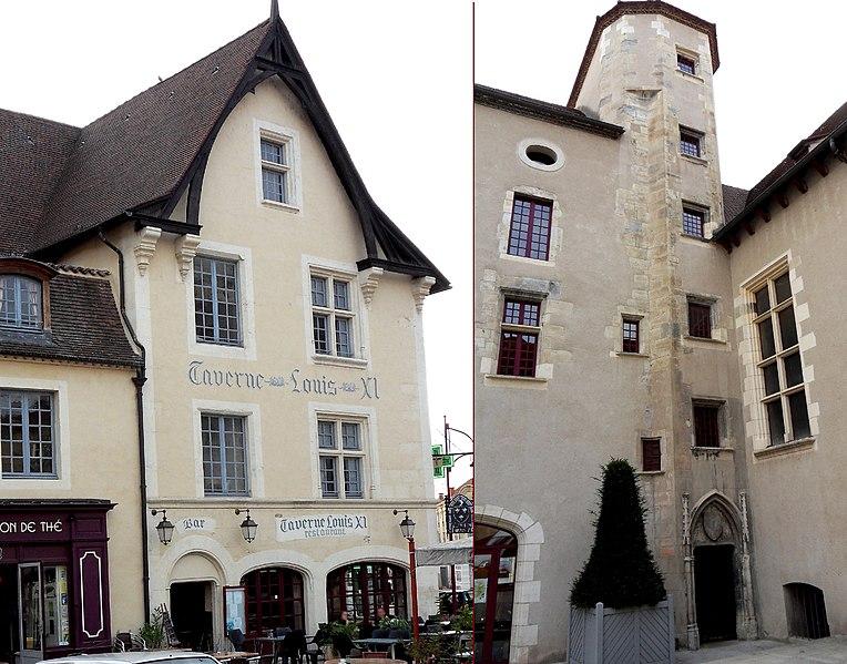 Photo du Monument Historique Maison dite de Louis XI situé à Cusset