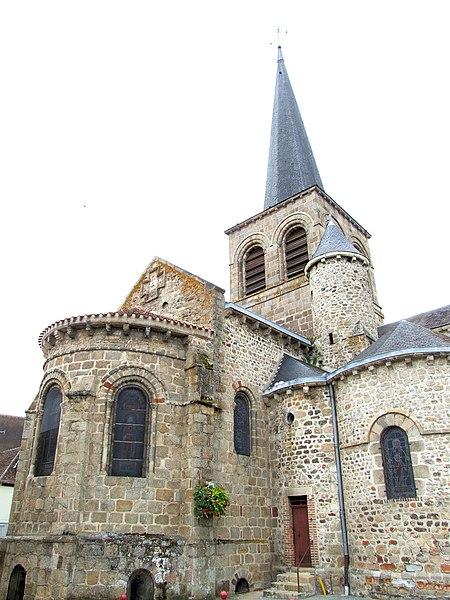 Photo du Monument Historique Eglise Notre-Dame situé à Domérat