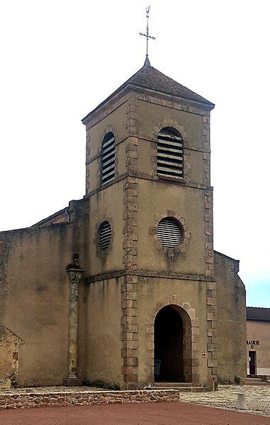 Photo du Monument Historique Eglise Saint-Nicolas situé à Droiturier