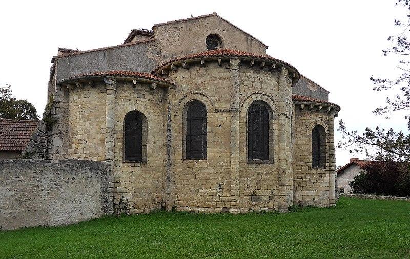 Photo du Monument Historique Eglise Saint-Cyr et Sainte-Julitte situé à Escurolles