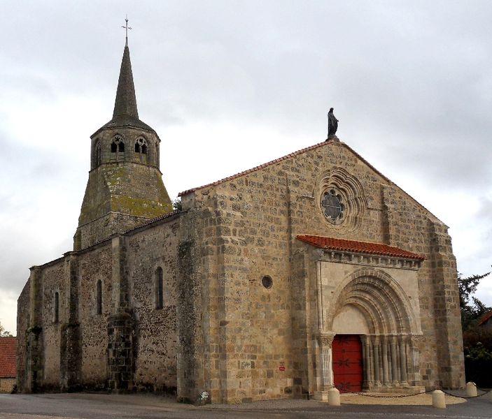 Photo du Monument Historique Eglise Notre-Dame situé à Fleuriel
