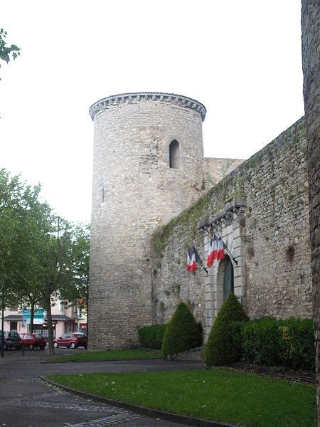 Photo du Monument Historique Ancien château situé à Gannat