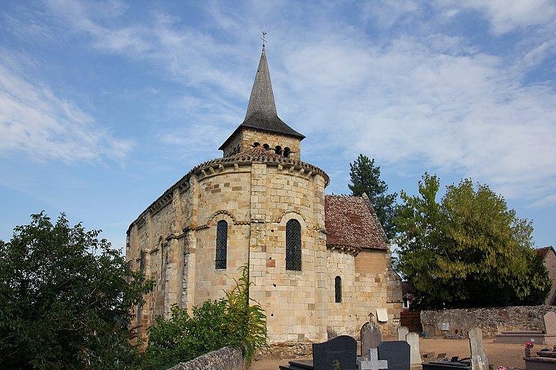 Photo du Monument Historique Eglise de Chateloy situé à Hérisson